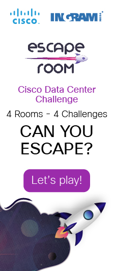 CISCO DATACENTER ESCAPE ROOM